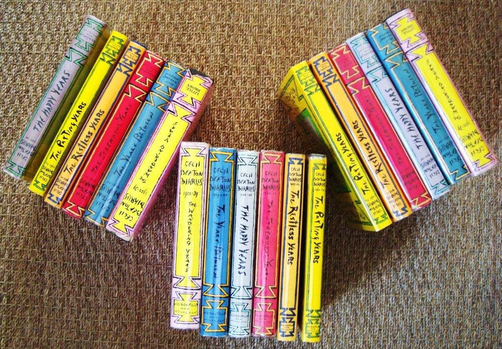 "Rare Complete Six Volume Set, ""The Cecil Beaton Diaries"" 4"