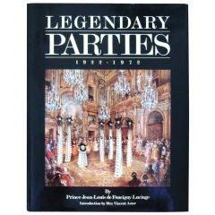 """Legendary Parties 1922-1972"" Book"