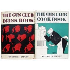 The Gun Club Drink Book and The Gun Club Cook Book