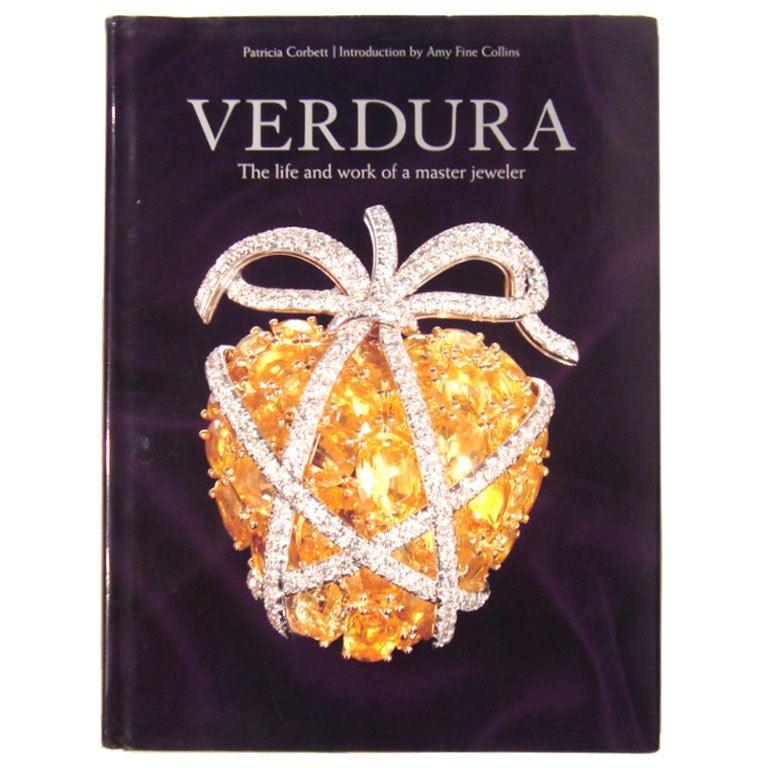 """Verdura The Life and Work of a Master Jeweler"" Book"