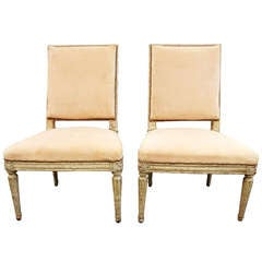 Pair Of John Vesey Cast Aluminum Windsor Chairs At 1stdibs
