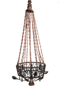 Montgolfier Style French Chandelier
