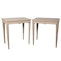 Pair of Gustavian Side Tables