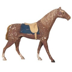 Swiss Painted Toy Horse