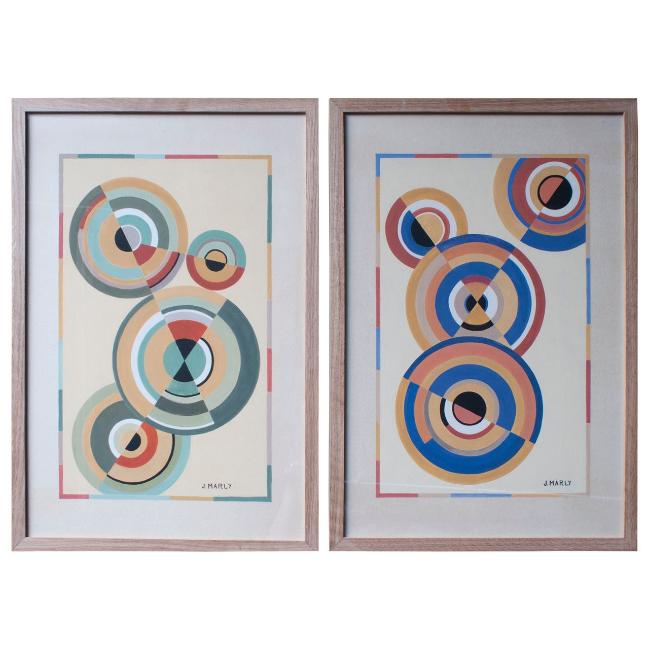"""Gouache Paintings, """"The Circle Series"""" We Actually Have Four"""