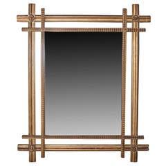 Double Frame Gilt Mirror