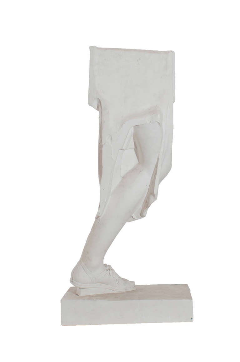 Plaster Model of a Copy of a Roman Antiquities In Excellent Condition For Sale In Washington, DC