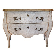 Painted Bombay Commode