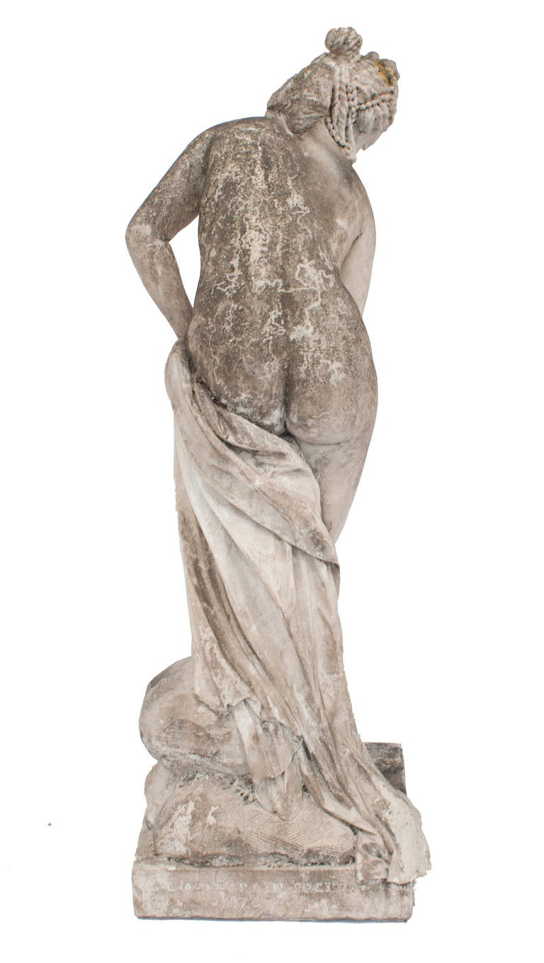 Statue Of Diane Bathing This Is A Louvre Museum Copy At