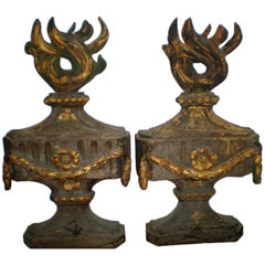 A pair of cassolettes