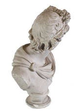 Plaster Head of Apollo