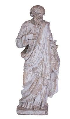 Saint Phillipe Benizzi Terra Cotta Statue