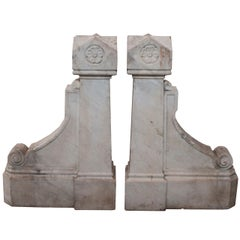 A Pair of Architectural Fragments