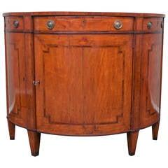 Continental Demilune Cabinet, circa 1790