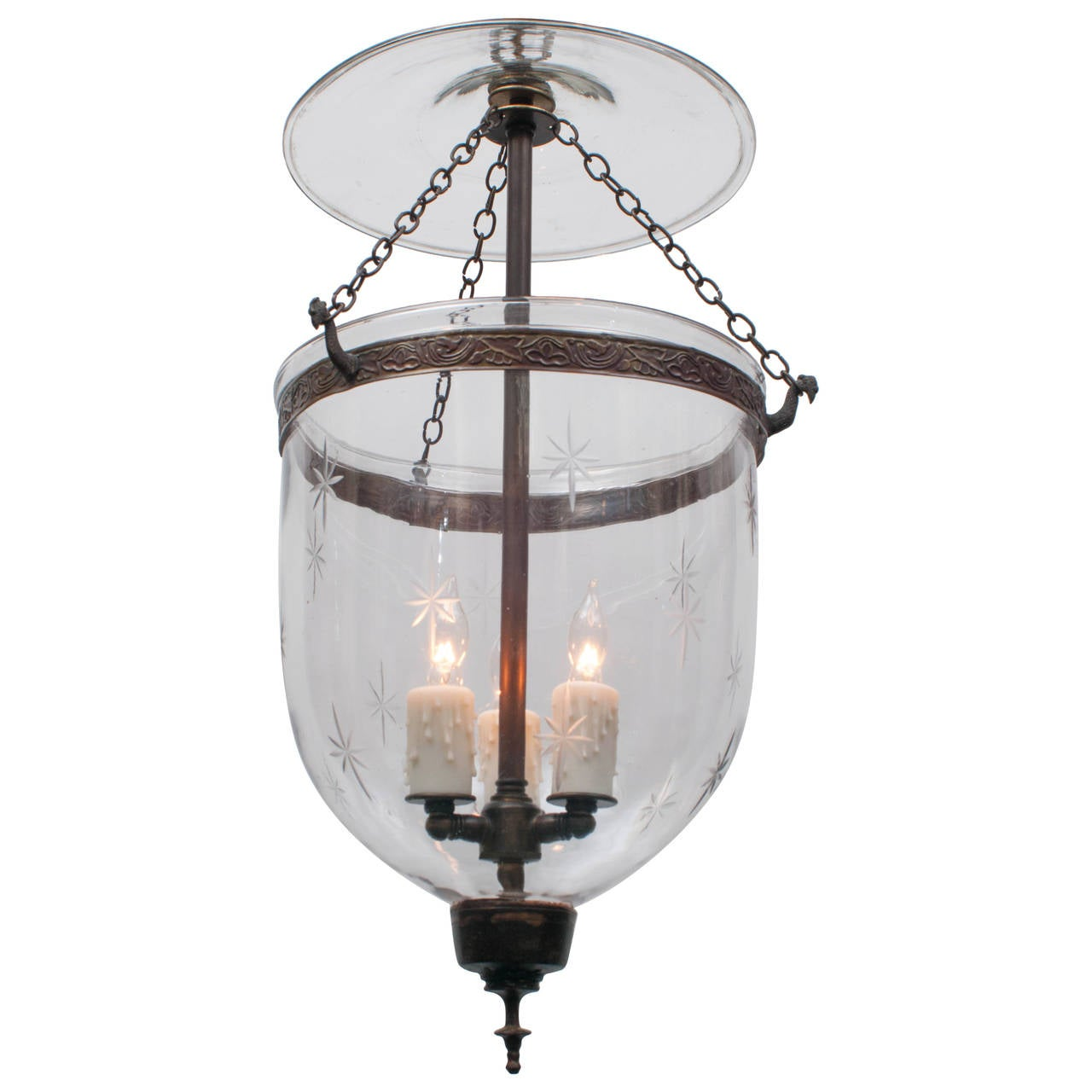 This Etched Star Lantern, Belgium, circa 1850 is no longer available.