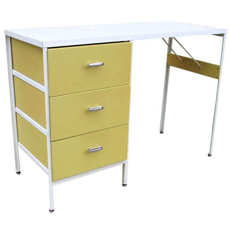 Steel Frame Desk By George Nelson At 1stdibs