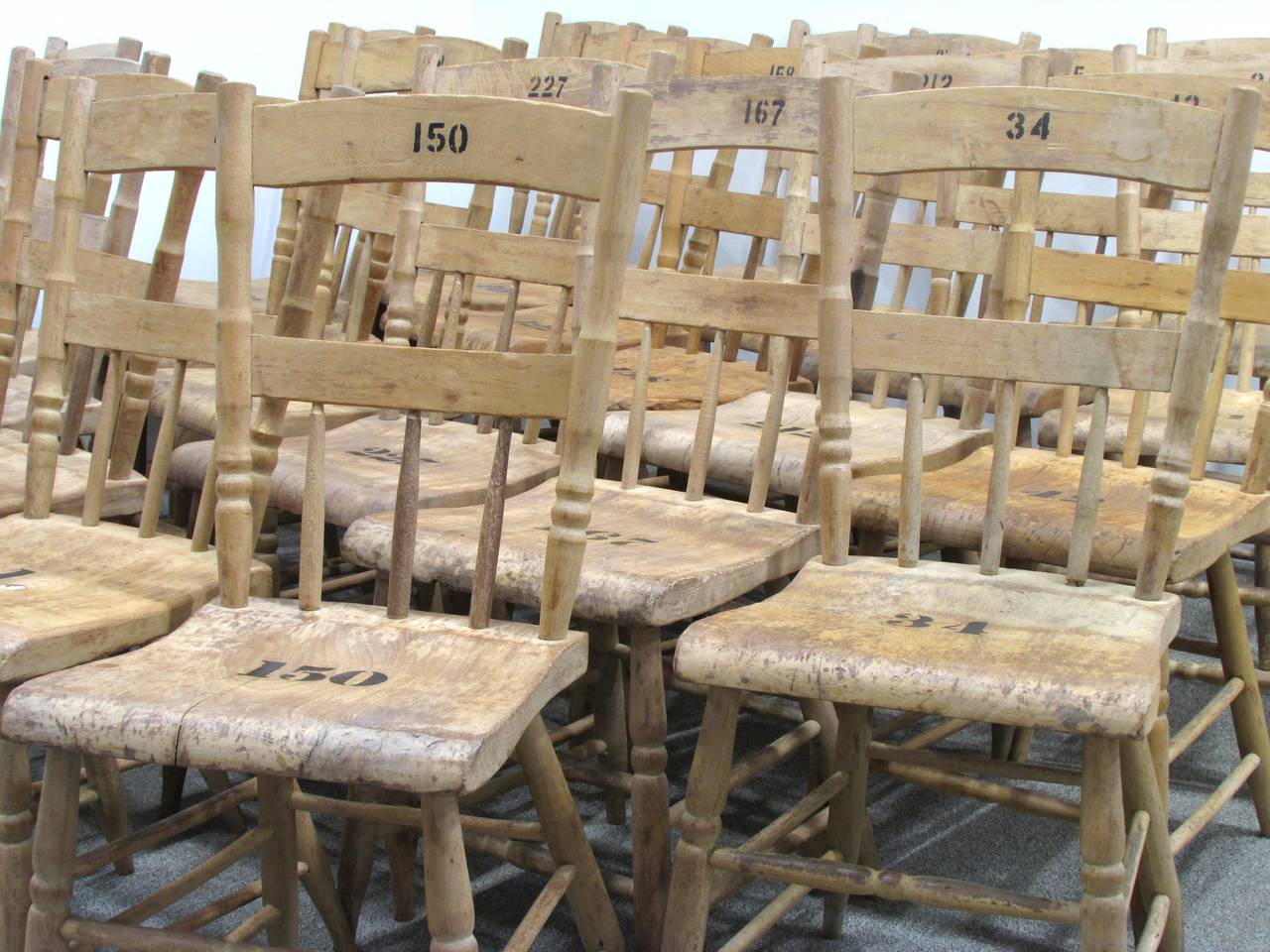 American Grange Hall Chair 24 Available For Sale