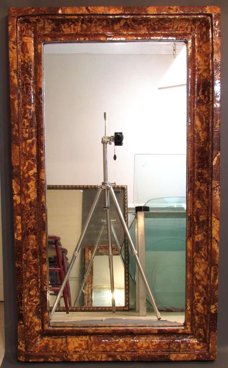 Coconut Shell Mirror 2