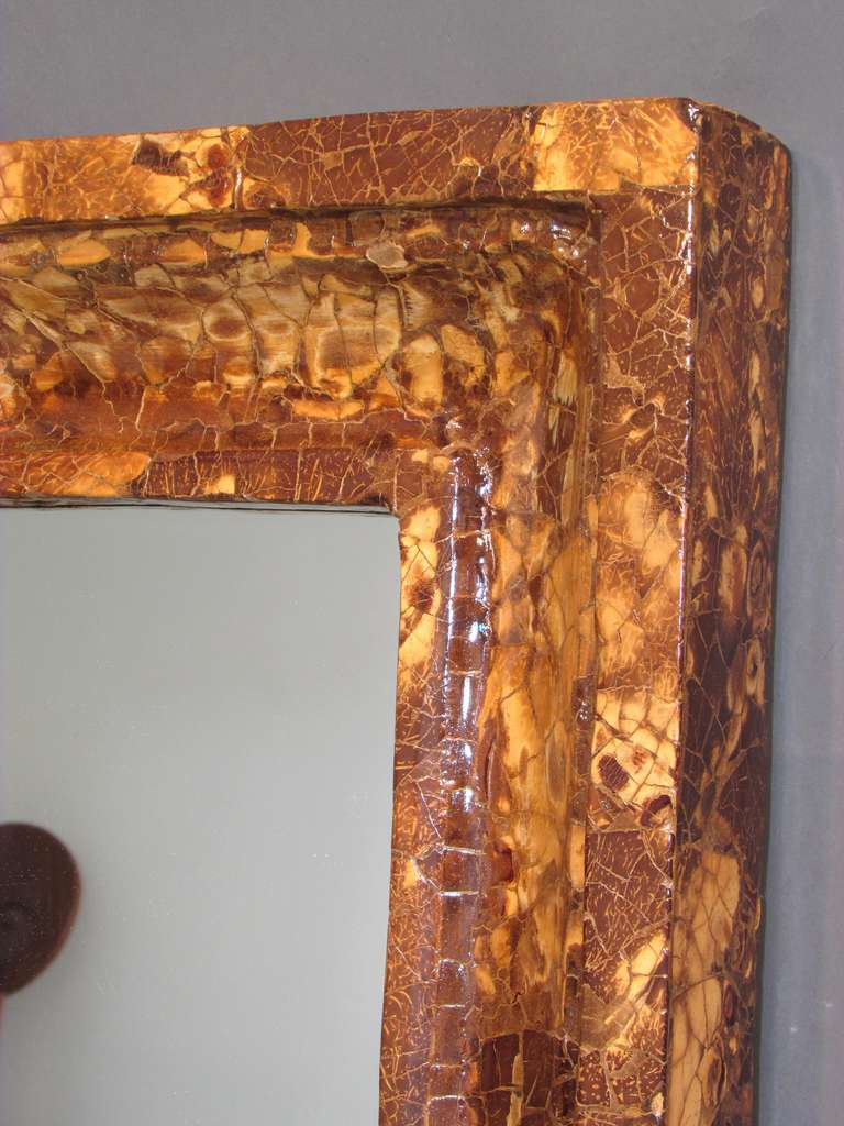 Coconut Shell Mirror 5