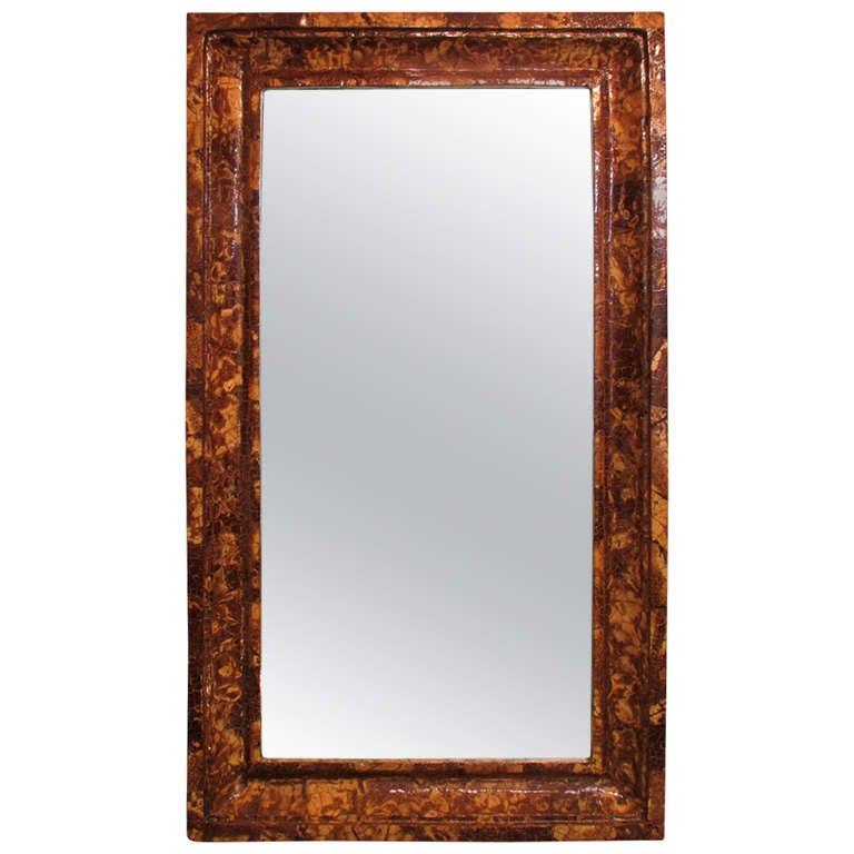 Coconut Shell Mirror 1