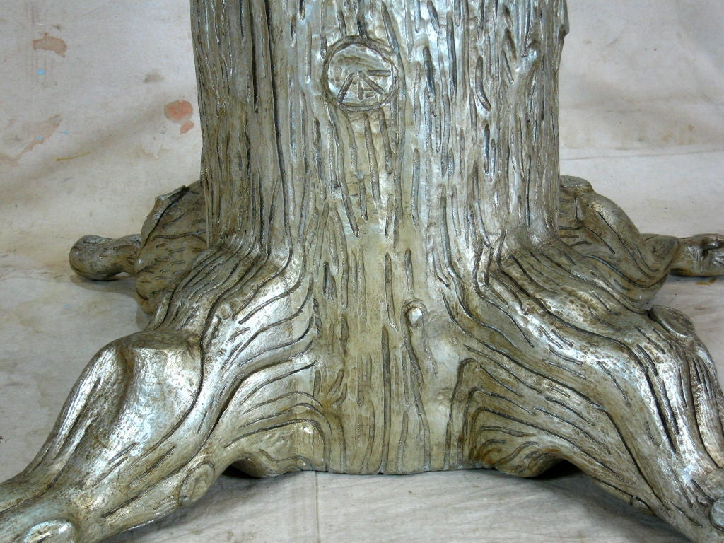Tree Trunk Dining Table Of Tree Trunk Dining Table By David Barrett For Sale At 1stdibs