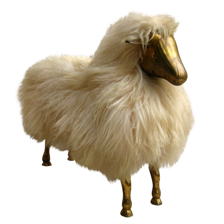 Bronze Wool Sheep