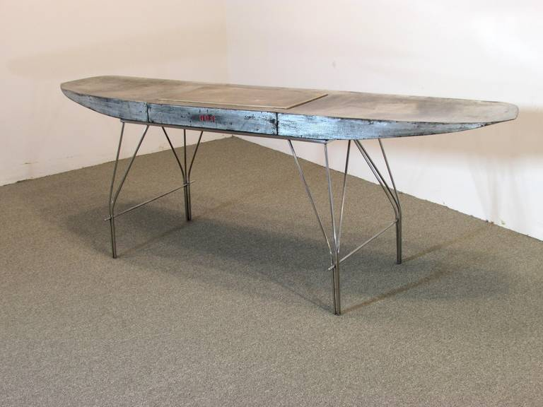 Airplane Wing Desk By Jonathan Singleton For Sale At 1stdibs