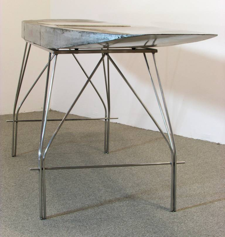 Airplane Wing Desk By Jonathan Singleton In Excellent Condition For High Point Nc