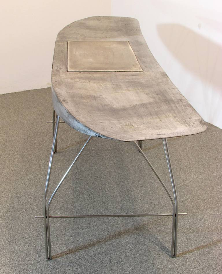 Airplane wing desk by jonathan singleton for sale at 1stdibs - Archives departementales 33 tables decennales ...