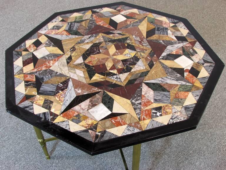 Pietra Dura Specimen Table 4