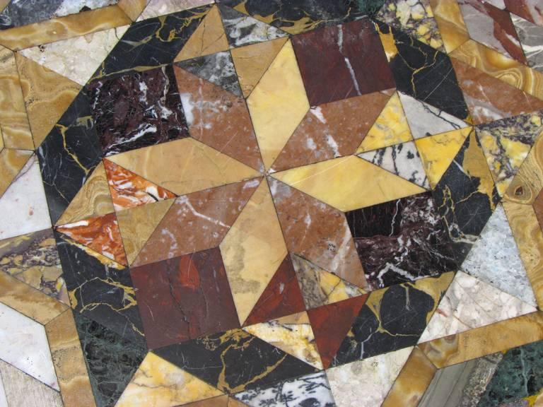 Pietra Dura Specimen Table 8