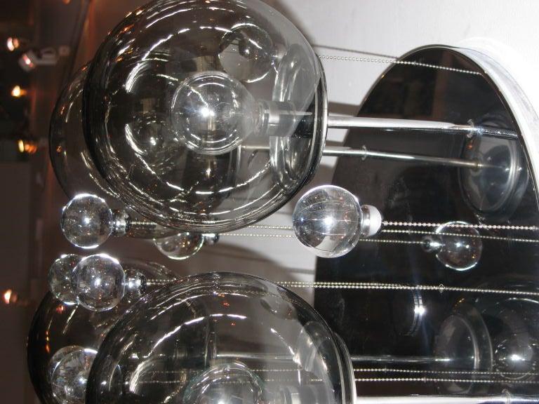 Lightolier Ball Chandelier At 1stdibs