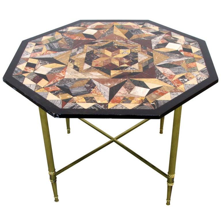 Pietra Dura Specimen Table 1