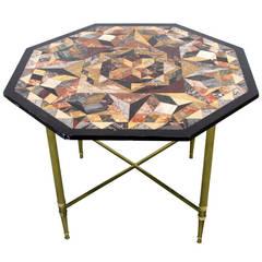 Pietra Dura Specimen Table