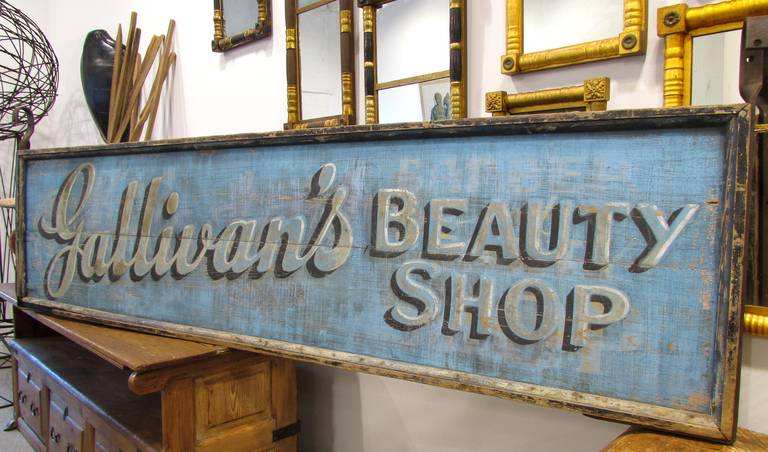 Beauty Shop Trade Sign 2