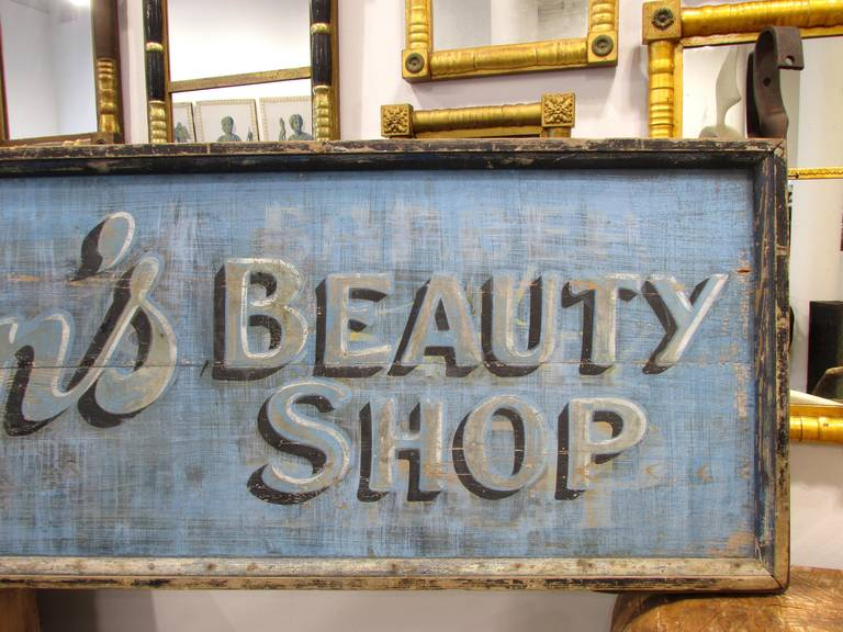 Beauty Shop Trade Sign 4