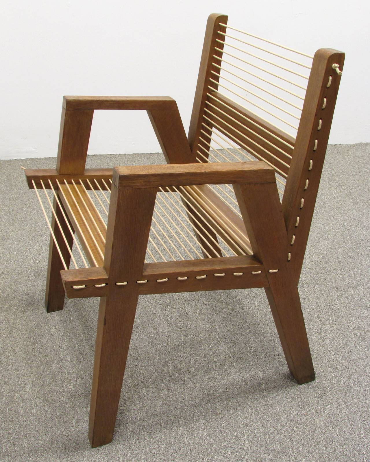String Chair From New Bauhaus Chicago 3