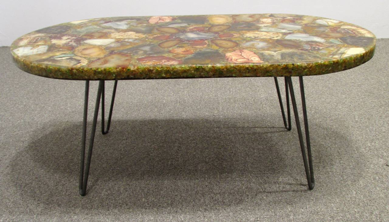Petrified Wood Specimen Coffee Table At 1stdibs