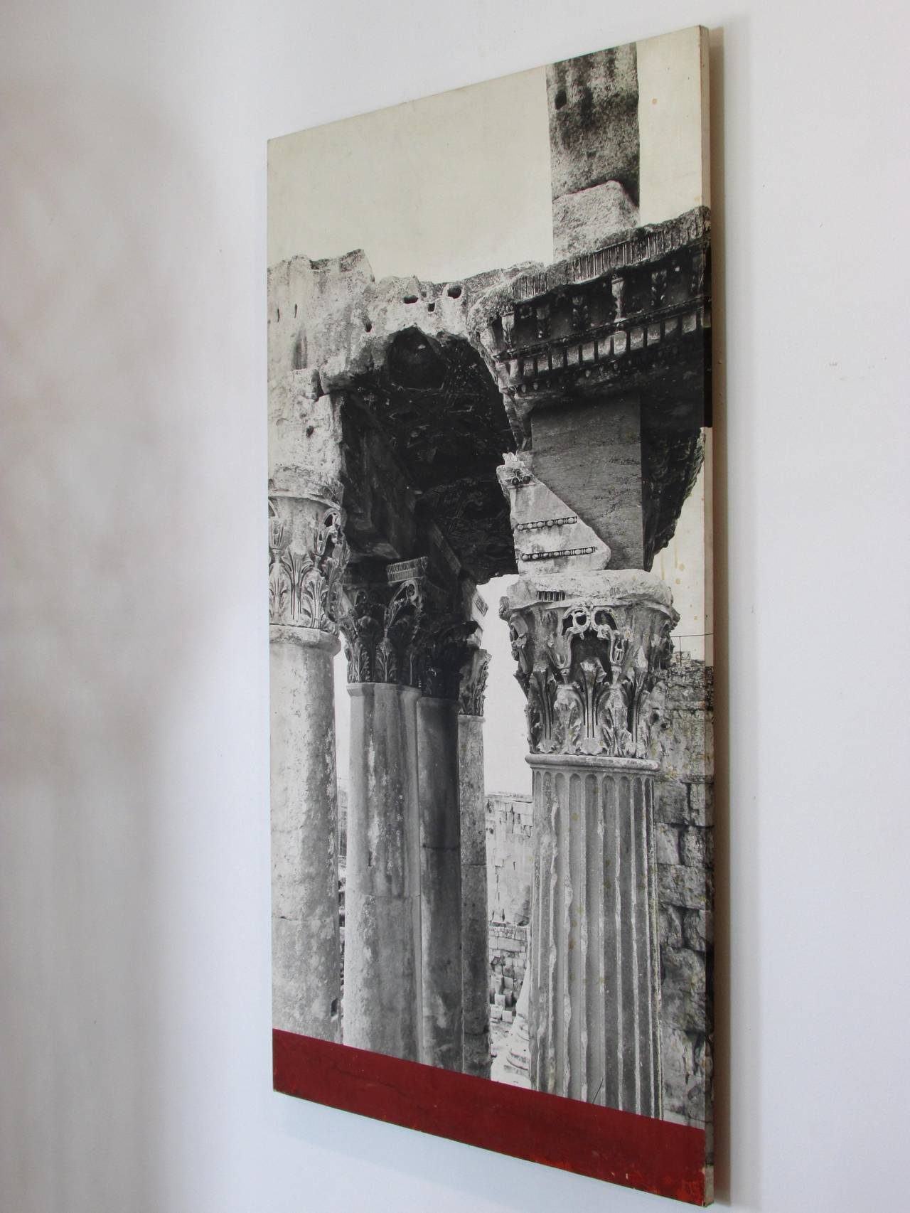 Marvelous photograph of Baalbek Ruins Photo from New York Worlds Fair 1964 at 1stdibs with #5E2724 color and 1280x1706 pixels