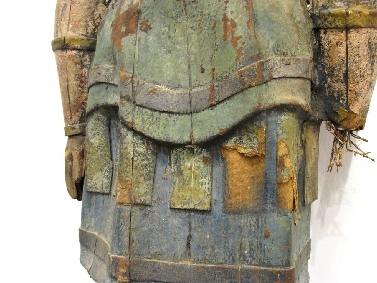 Paper Mache Viking Shieldmaiden Image 6