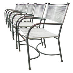 Set of Bronze Chairs by Robert Lewis