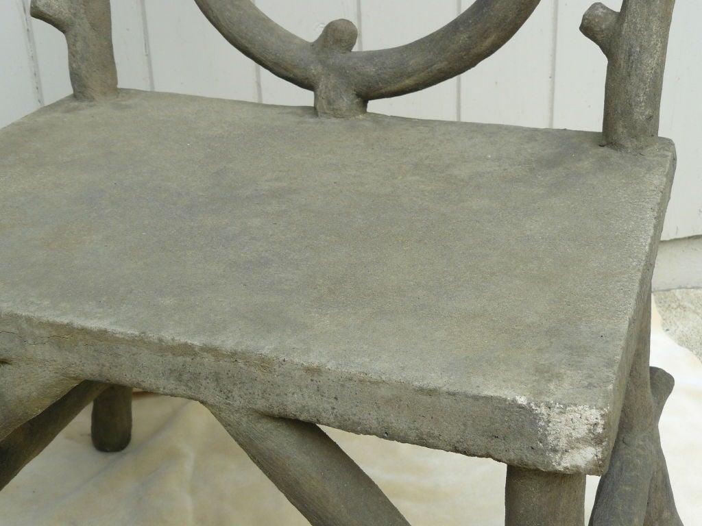 Faux Bois Beton : Concrete Faux Bois Furniture