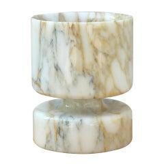 Angelo Mangiarotti for Knoll International Marble Vessel