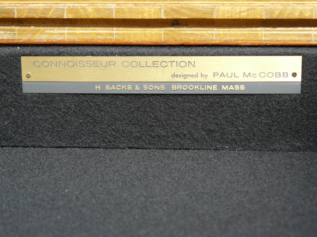 Paul McCobb for H Sacks & Sons Reversible Top Game Table image 10
