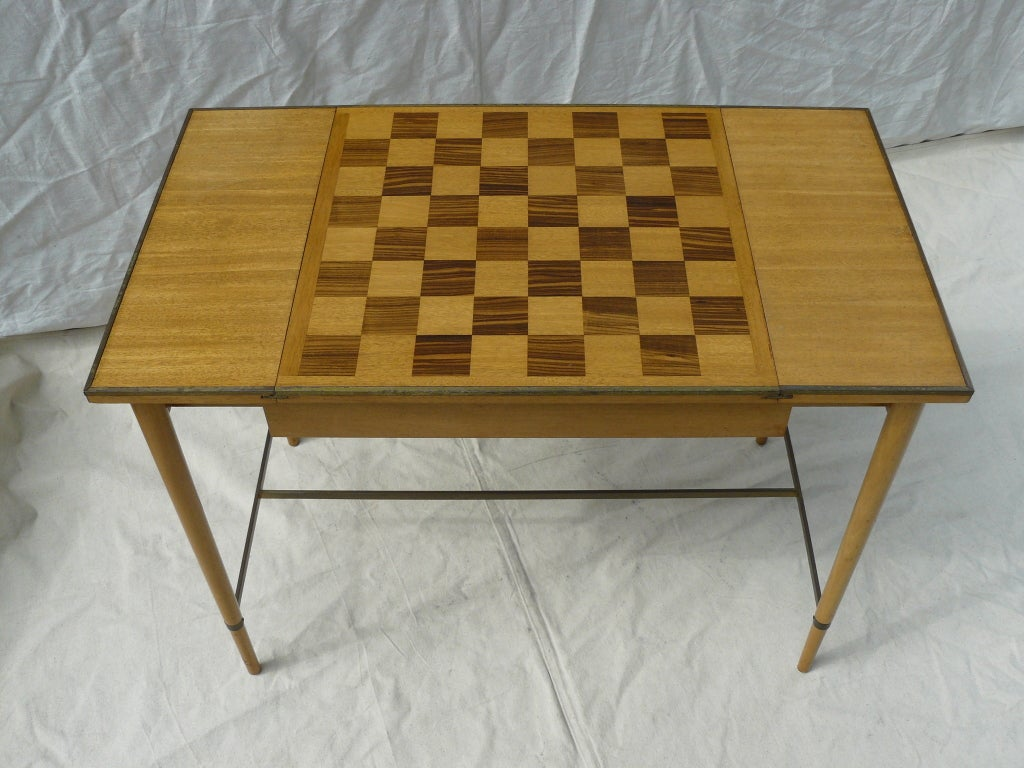 Paul McCobb for H Sacks & Sons Reversible Top Game Table image 2