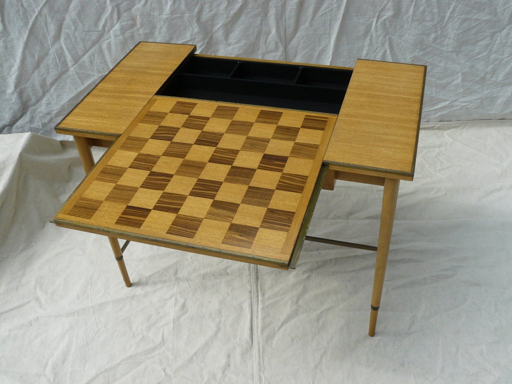 Paul McCobb for H Sacks & Sons Reversible Top Game Table image 3