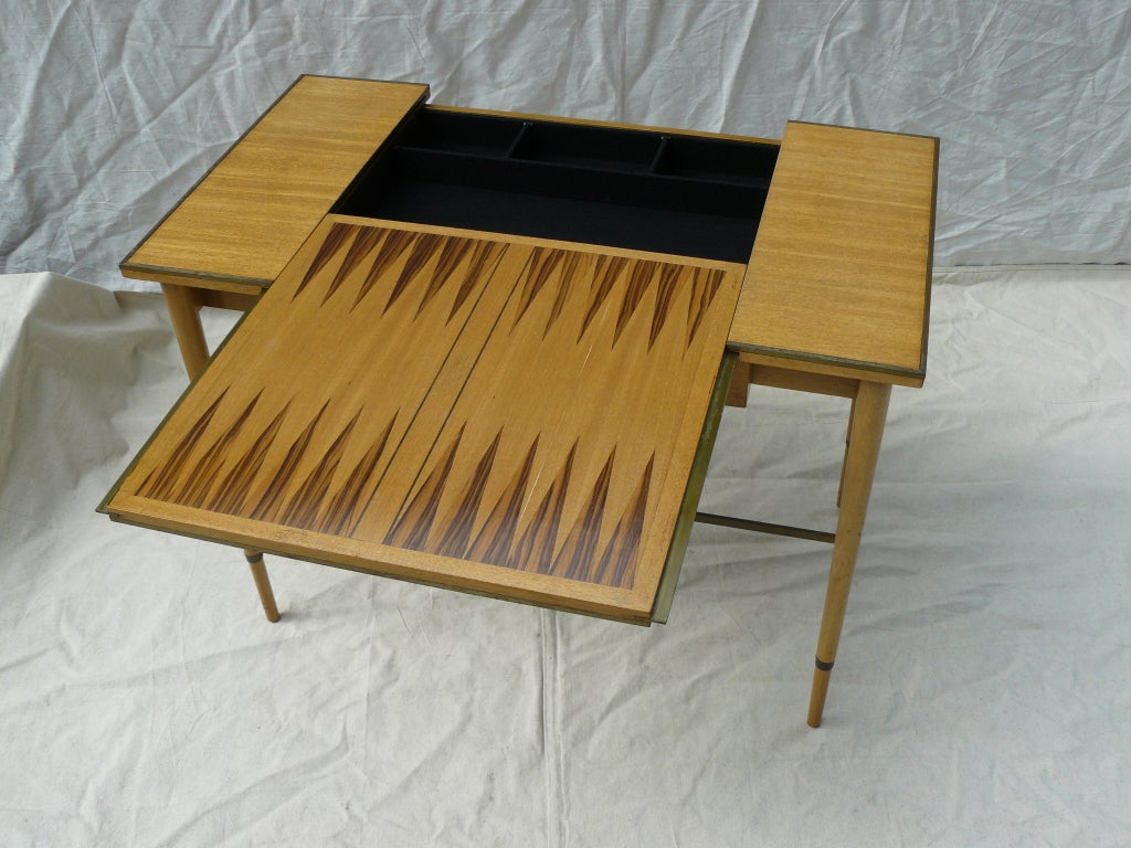 Paul McCobb for H Sacks & Sons Reversible Top Game Table image 4