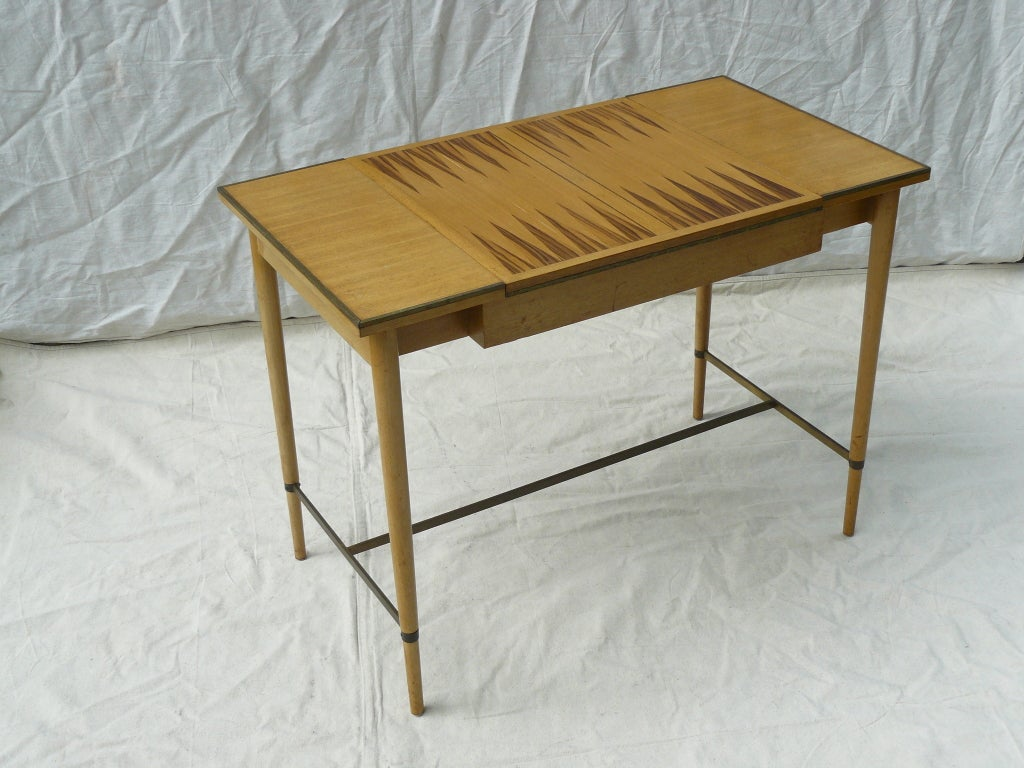 Paul McCobb for H Sacks & Sons Reversible Top Game Table image 5