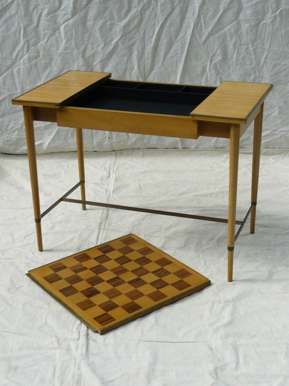 Paul McCobb for H Sacks & Sons Reversible Top Game Table image 7