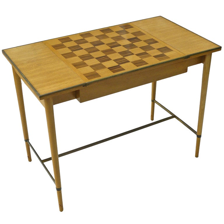 Paul McCobb for H Sacks & Sons Reversible Top Game Table